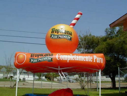 Arches & Tent Toppers tropicana tent topper