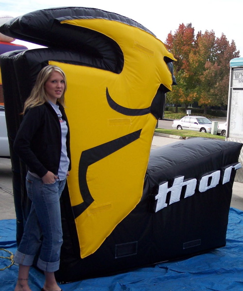 Custom Advertising Balloons thor 3-d logo