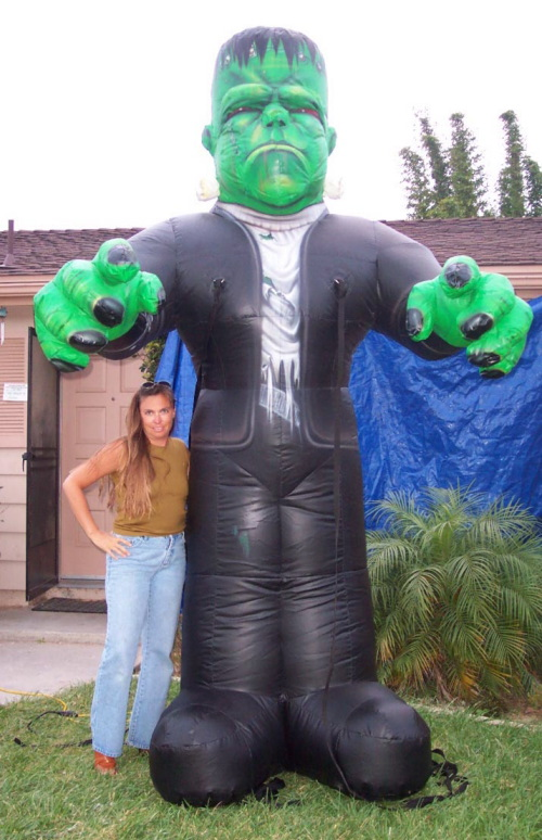 Holiday Inflatables 10' frankenstein