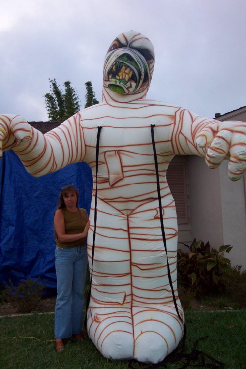 Holiday Inflatables 12' mummy