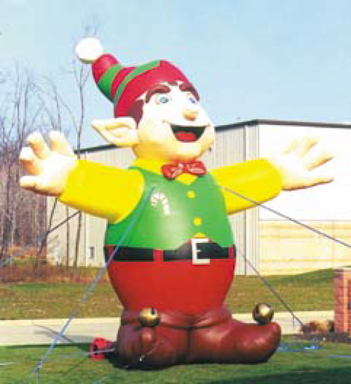 Holiday Inflatables 25' elf