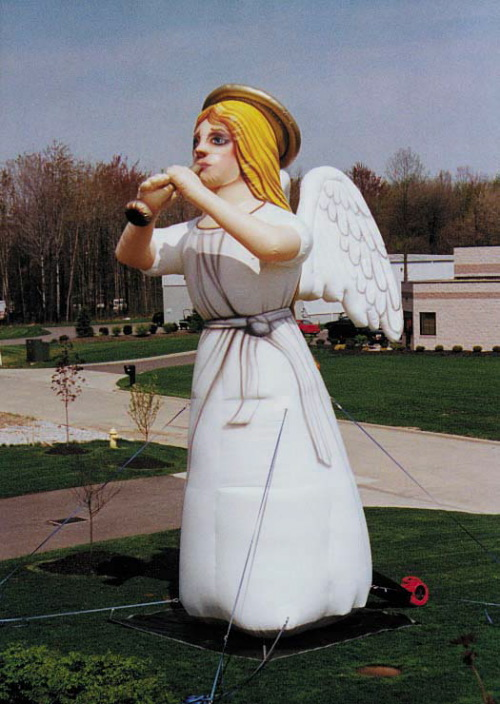 Holiday Inflatables angel