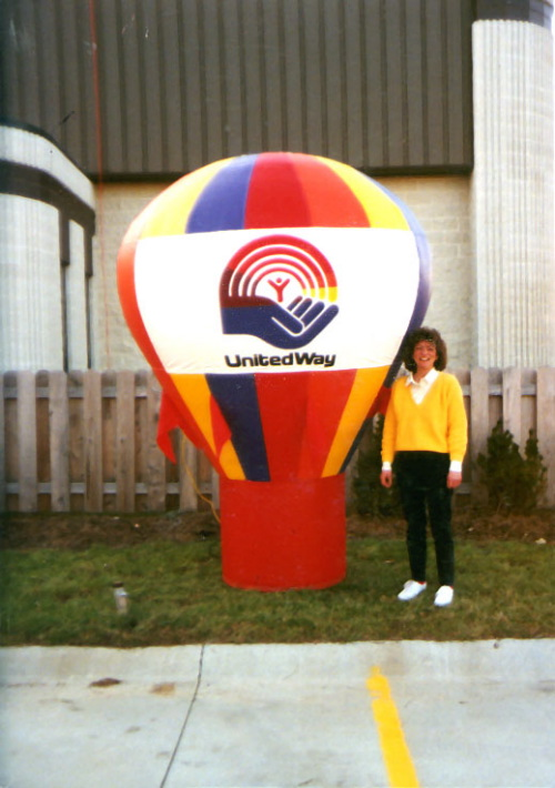Hot Air Balloon Shaped Inflatables 8' hab