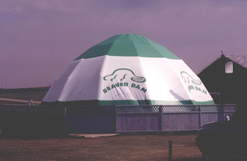 Inflatable Buildings and Tents 40' enclosed tent