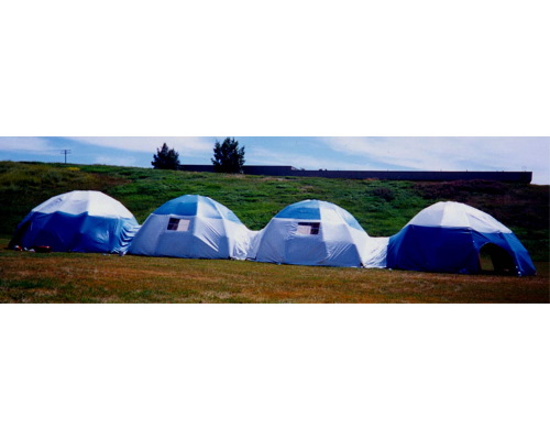 Inflatable Buildings and Tents emergency domes