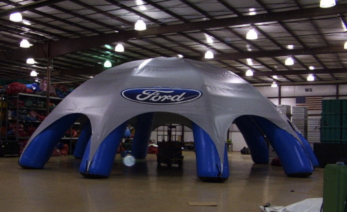 Inflatable Buildings and Tents ford tent