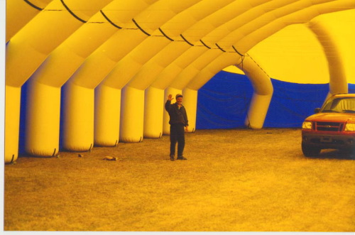 Inflatable Buildings and Tents inside ikea tent