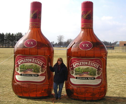 Inflatable Cans and Bottles appleton estates 12'