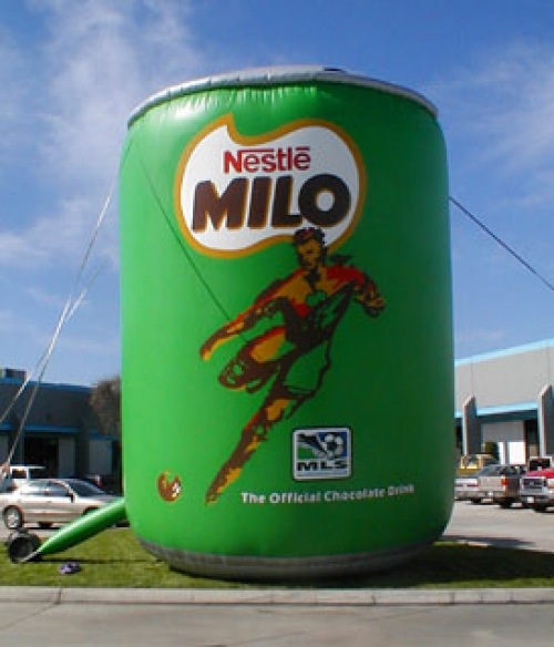 Inflatable Cans and Bottles milo can 20'