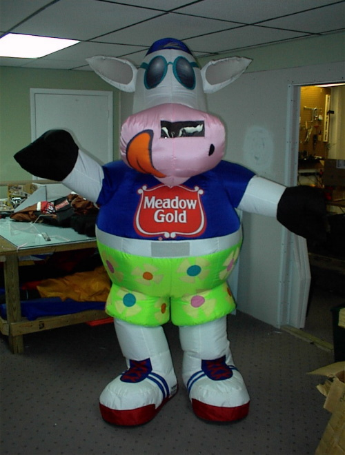 Inflatable Costumes meadow cow