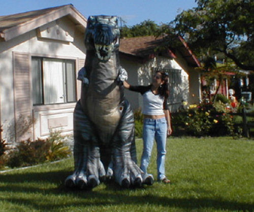 Inflatable Costumes t-rex costume