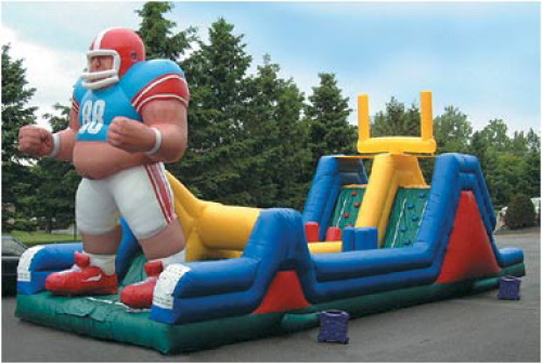 Inflatable Interactive Games big man obstacle course