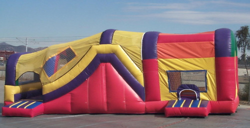 Inflatable Interactive Games combo slide jump