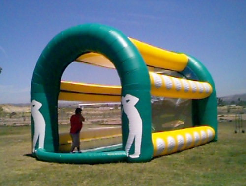 Inflatable Interactive Games golf game
