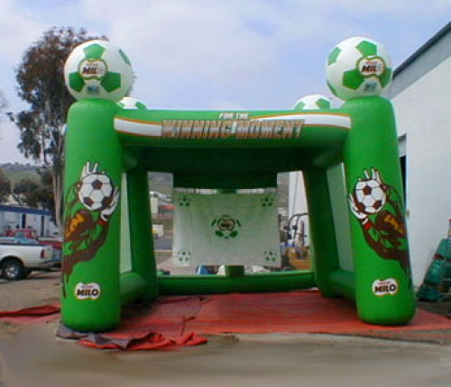 Inflatable Interactive Games milo soccer game