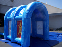 Inflatable Interactive Games Misting Tunnel