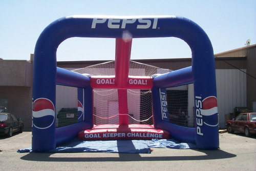 Inflatable Interactive Games pepsi penalty kick