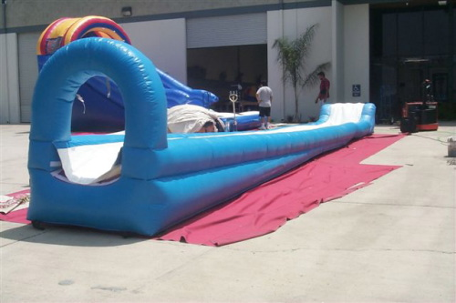 Inflatable Interactive Games slip and slide
