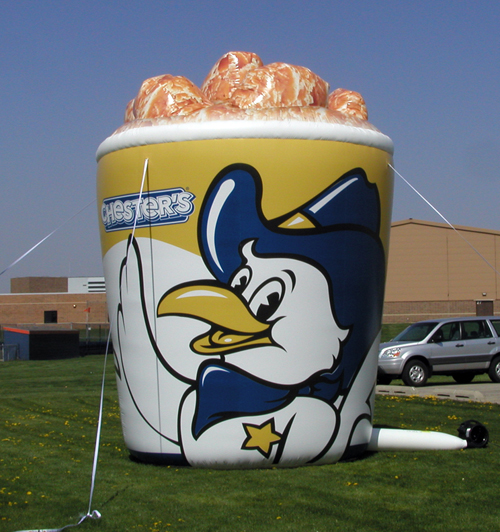 Inflatable Product Replicas 20' Inflatable Chicken Bucket
