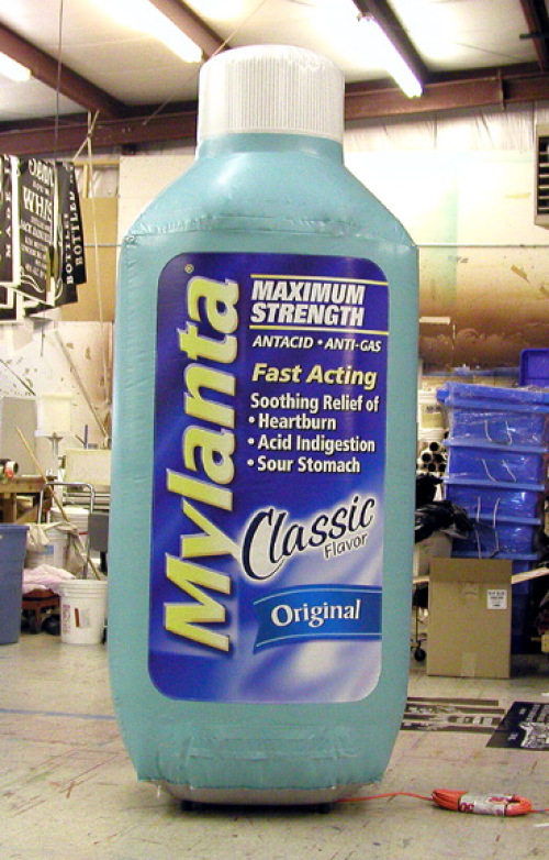 Inflatable Product Replicas mylanta-8'