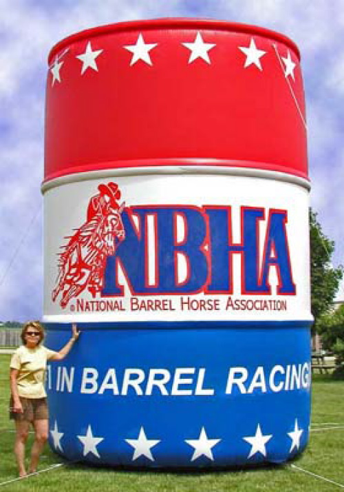 Inflatable Product Replicas nbha-barrel