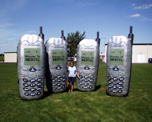 Inflatable Product Replicas nextel - 10'