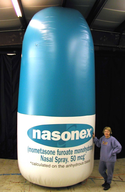Inflatable Product Replicas nasonex-15'
