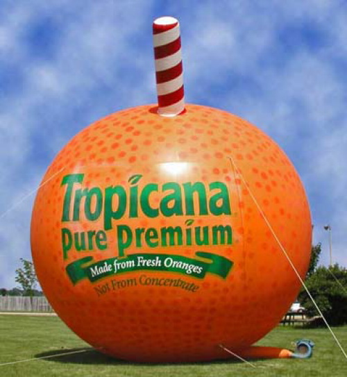 Inflatable Product Replicas tropicana-orange-20'-diamet