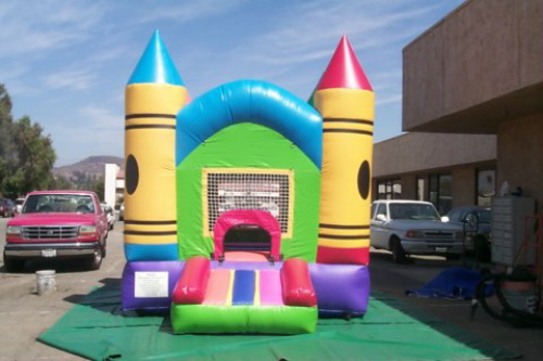 Kid's Jumps & Bounce Houses crayon jump