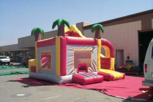 Kid's Jumps & Bounce Houses palm tree jump