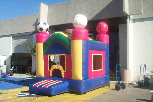 Kid's Jumps & Bounce Houses small sports jump