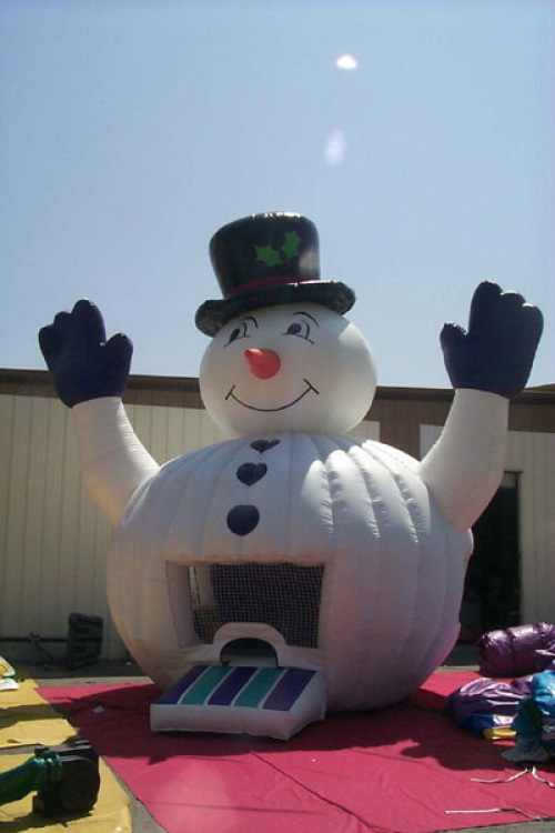 Kid's Jumps & Bounce Houses snowman jump