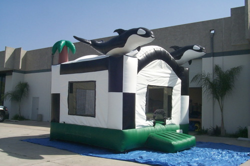 Kid's Jumps & Bounce Houses whale jump
