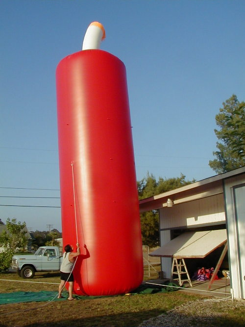 Miscellaneous Inflatables 30' firecracker