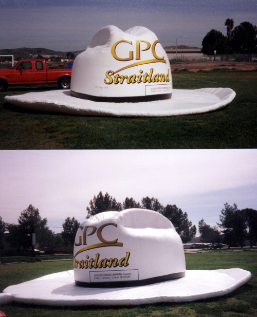 Miscellaneous Inflatables george straight cowboy hat