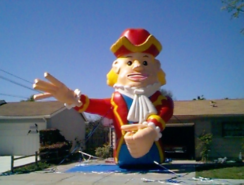 Miscellaneous Inflatables gulliver- 25'