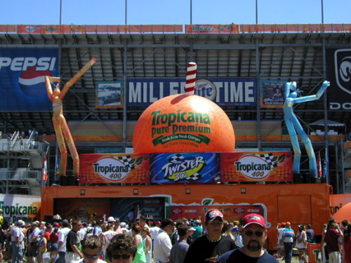 Miscellaneous Inflatables tropicana stage