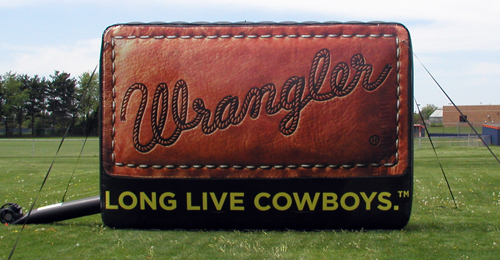 Our Recent Creations Inflatable Realistic Wrangler Patch