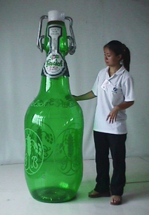 Point of Purchase Balloons sealed beer bottle