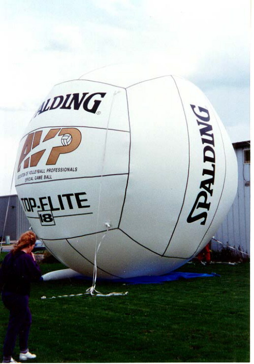 Sports Related Inflatables 20'-volleyball