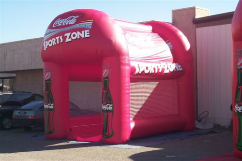 Sports Related Inflatables coke sports game