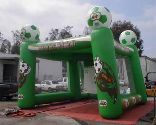 Sports Related Inflatables milo soccer game