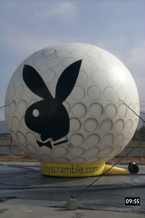 Sports Related Inflatables playboy golf ball