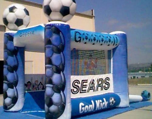 Sports Related Inflatables sears soccer game