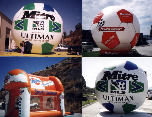 Sports Related Inflatables soccer inflatables